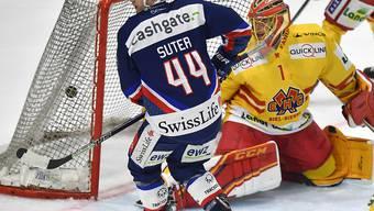 Anfangs dieser Saison in Topform: Pius Suter erzielte für die ZSC Lions den 2:2-Ausgleich gegen Biel