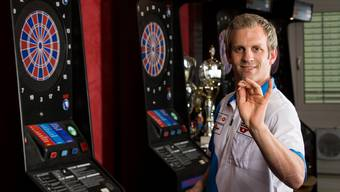 Dartsspieler Marcel Hirzel