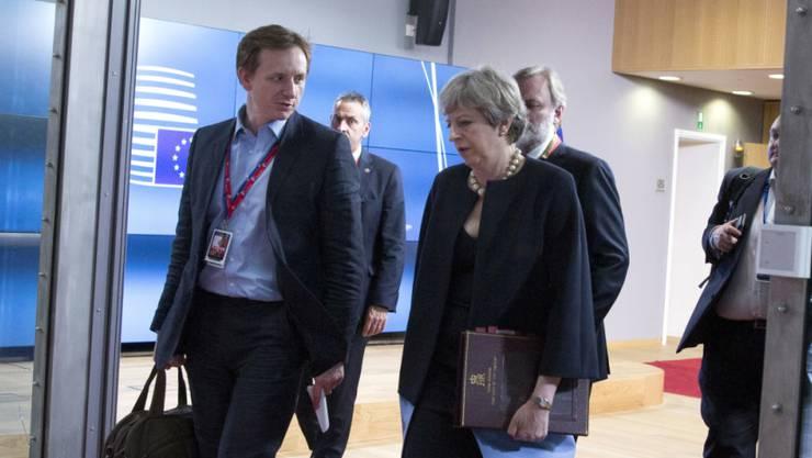 EU-Gipfel: Die britische Premierministerin Theresa May will EU-Bürgern auch nach dem Brexit einen unkomplizierten Aufenthalt in Grossbritannien ermöglichen.
