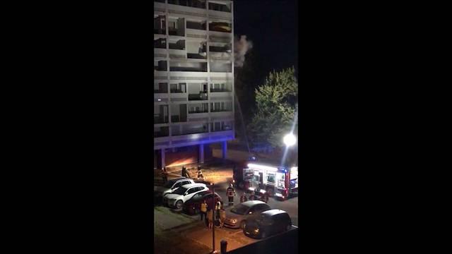 Brand in einem Hochhaus in Birr – vier Personen im Spital