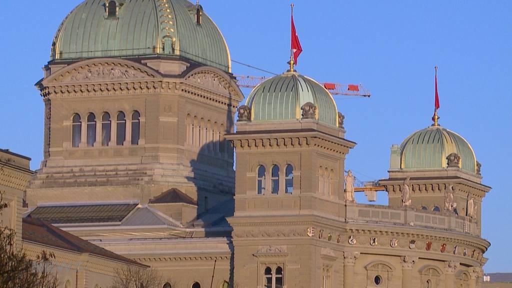 Granitklötze sollen Bundeshaus vor Terroranschlägen schützen