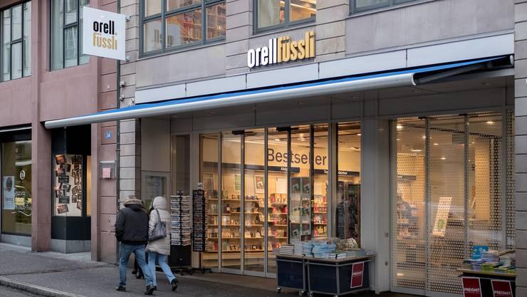 Die Buchhandlung Orell Füssli  vor ihrem Umzug an den neuen Standort in der Basler Freien Strasse.  Kenneth Nars