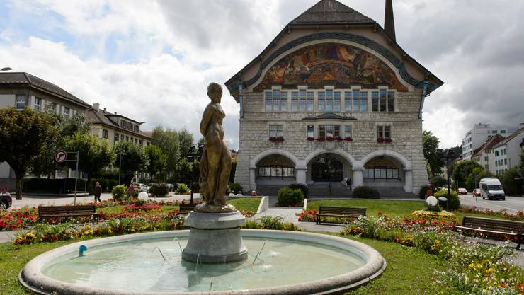 Das Rathaus in Le Locle.