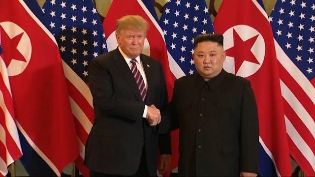 Friedensgespräche zwischen Donald Trump und Kim Jong Un