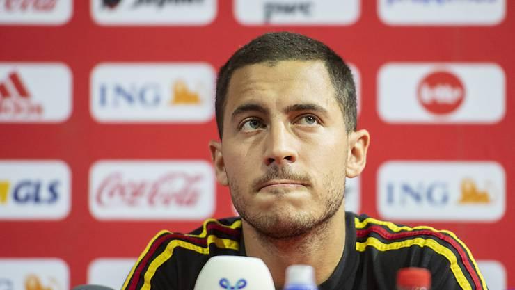Eden Hazard will sich zu den Vorwürfen im belgischen Fussball nicht äussern