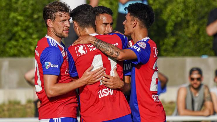 Der FC Basel siegte im Testspiel gegen 1860 München mit 5:1.