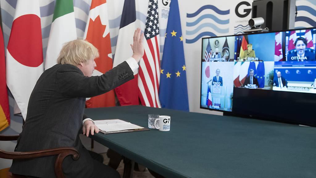 Johnson fordert Optimismus und wirbt für «Koalition der Offenheit»