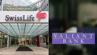Swiss Life und Valiant arbeiten zusammen.