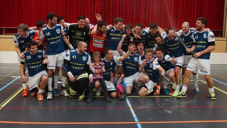 Die erste Mannschaft des TSV Deitingen spielt in der nächsten Saison in der 1. Liga.