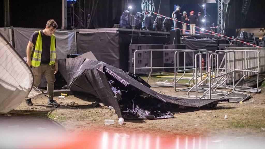 Rap-Konzert in Deutschland endet in Katastrophe