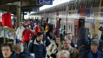 Bald nicht mehr ohne Umsteigen zu erreichen: Der Bahnhof Chur