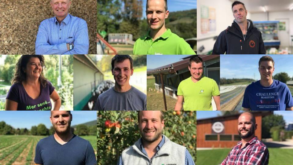 Collage Aargauer Bauern 2018