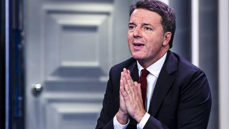 Ex-Ministerpräsident Matteo Renzi hat seine Ministerinnen aus der Koalitionsregierung abgezogen.