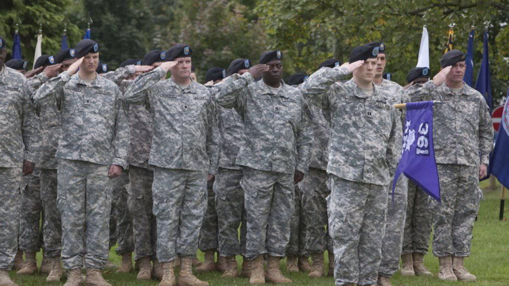 Dürfen ab Anfang 2018 ebenfalls zum Dienst in der US-Armee antreten: Transgender-Menschen. (Symbolbild)