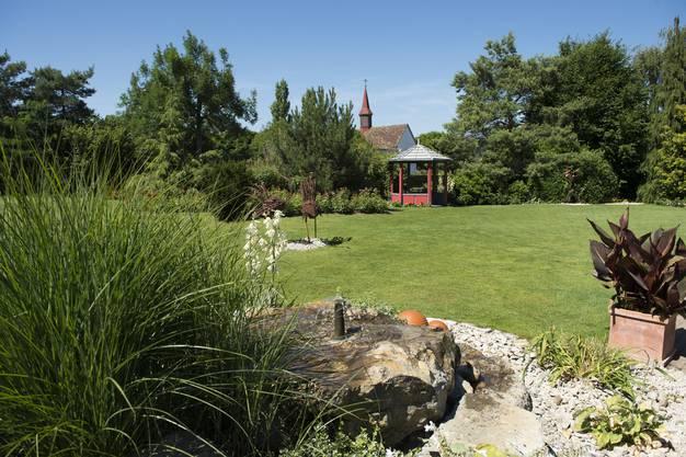 Der Garten von Elisabeth Indermühle in Bad Zurzach