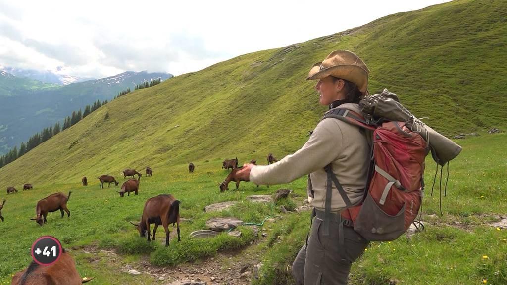 Alpsommer - Martina und ihre Ziegen