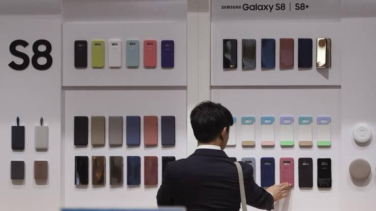 Das Galaxy S8 sowie S8 Plus gibt es bei uns zum Start in drei Farben: Schwarz, Grau und Silber