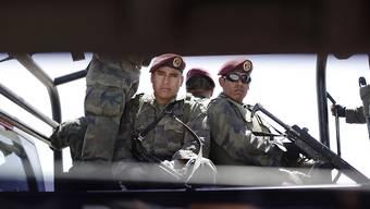 Mexikanische Soldaten haben ein Flugzeug mit einer Tonne Kokain an Bord beschlagnahmt. (Archivbild)