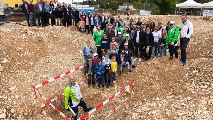 Am 28. September wurde auf dem Areal Nau in Laufen im Beisein von Regierungsrat Thomas Weber (BL) und Stadtpraesident Alexander Imhof...