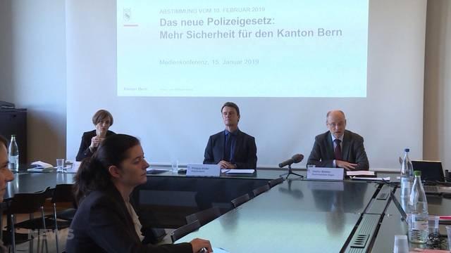 Berner Regierungsrat sagt JA zu Polizeigesetz