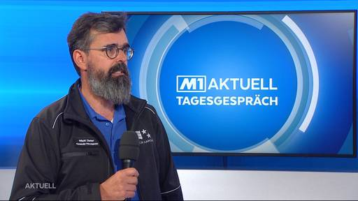 Dieter Wicki über die Notfalltreffpunkte im Kanton Aargau