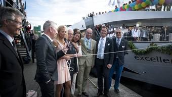 Twerenbold-Reisegruppe feiert Taufe der «Excellence Princess»
