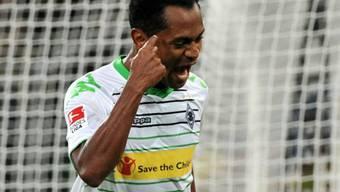 Raffael traf gegen den Tabellenletzten Braunschweig doppelt.