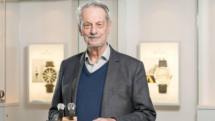 Uhren-Unternehmer Luc Tissot von der Tissot-Dynastie hat neu die Marke Milus übernommen und will dieser frischen Wind einhauchen.