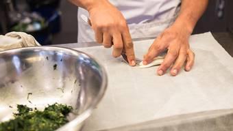 Martin war Küchenchef in einem Badener Restaurant. (Symbolbild)