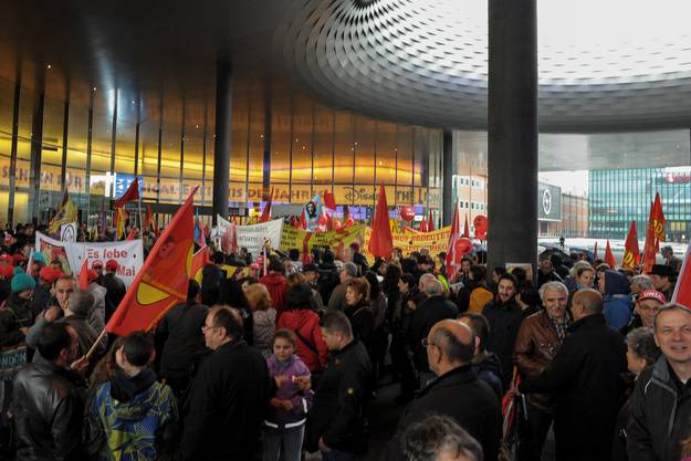 1.-Mai-Demo in Basel