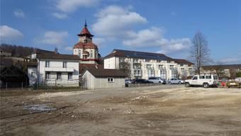 Das alte Betreuungs- und Pflegezentrum Schlossgarten in Niedergösgen