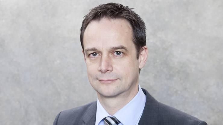 Patrick Schärer, Verwaltungsleiter der Stadt Baden.