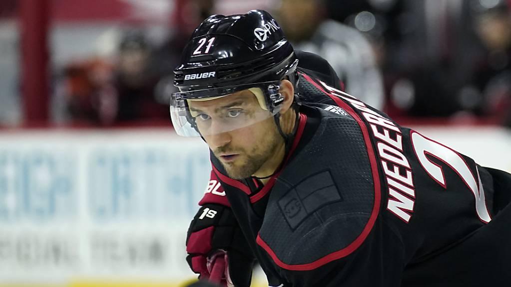 Nino Niederreiter muss den Traum vom Gewinn des Stanley Cup begraben