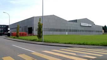 Das betroffene Unternehmen: Schwarz Stahl in Lenzburg
