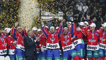 Der EHC Kloten kann in der nächsten Saison im Schweizer Eishockey-Cup als Titelverteidiger antreten