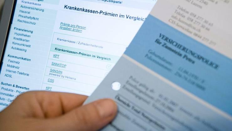 bonus.ch sieht die Erhöhung von 2,7 Prozent lediglich als Durchschnittszahl. (Archiv)
