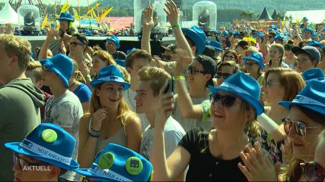 Argovia Fäscht: Zehntausende trotzen Hitze