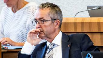 Der Baselbieter Volkswirtschaftsdirektor Thomas Weber (SVP).