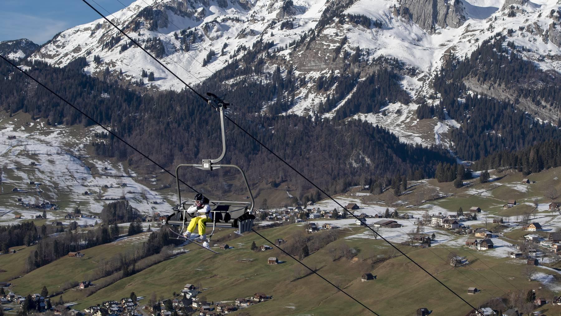 Den Skigebieten im FM1-Land schmilzt der Schnee weg