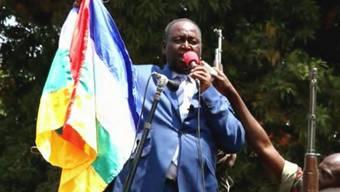 François Bozizé, Präsident der zentralafrikanischen Republik (Archiv)