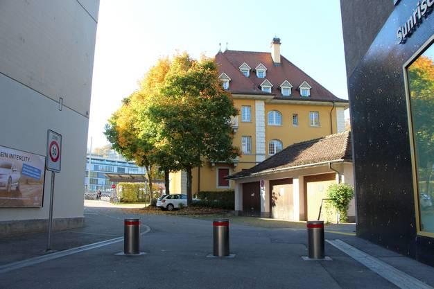 Moserweg in Baden