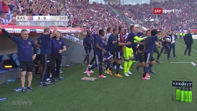 FC Basel ist Cupsieger!