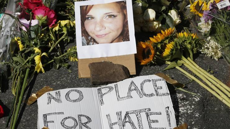 «Kein Platz für Hass»: Charlottesville trauert um Heather Heyer.