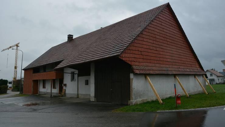 Die bestehende Asylunterkunft: Die 116 Jahre alte Liegenschaft im Gerstenacker befindet sich in einem schlechten Zustand.