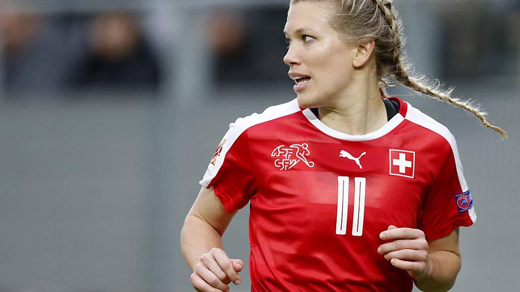 Lara Dickenmann schoss den Schweizer Treffer