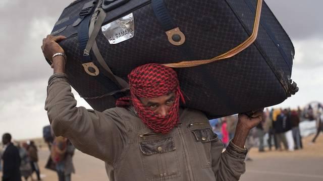 Flüchtlingsstrom aus Libyen ist leicht zurückgegangen