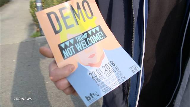 Grösste Anti-WEF-Demo seit Jahren angekündigt