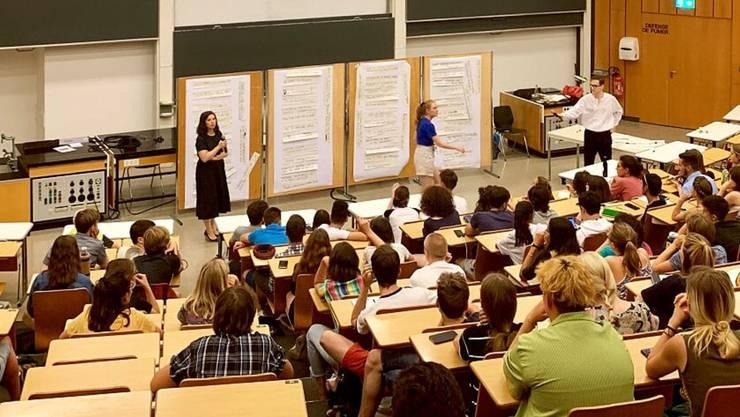 Bei einigen Workshops in Lausanne ging es drunter und drüber.