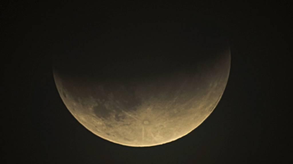 Die letzte Mondfinsternis bis 2022