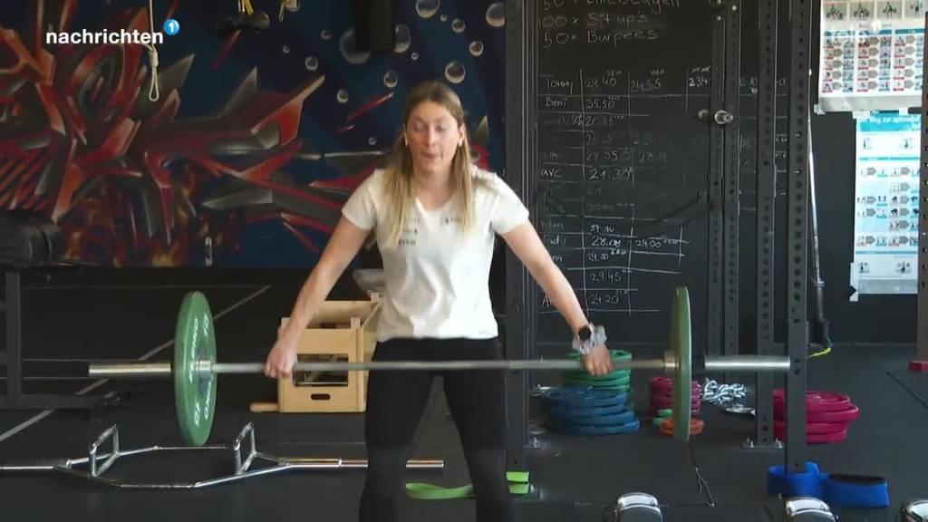 So macht sich die Nidwaldnerin Jessica Keiser für die Snowboard WM fit